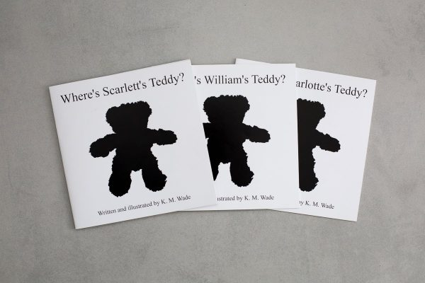 Where's My Teddy? Can be personalised according to any child's name