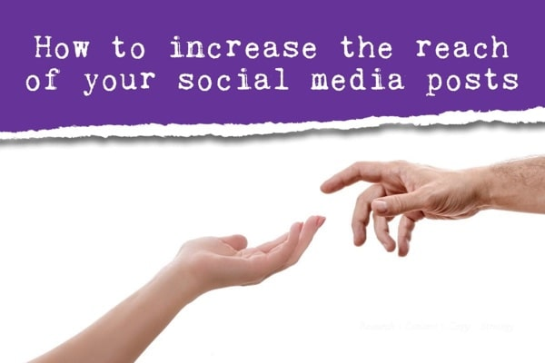 increase the reach of social posts