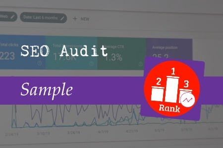 SEO audit sample