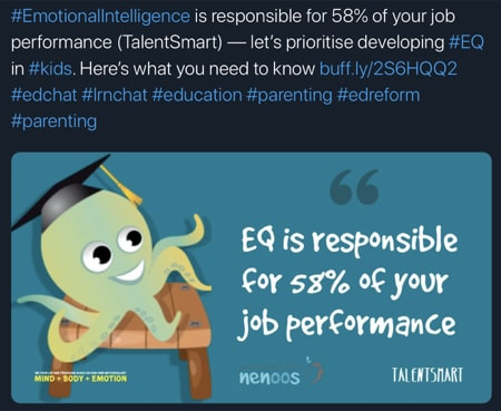 EQ is responsible for 58# of your job performance
