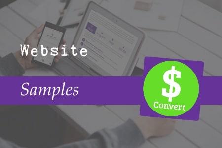 Website samples