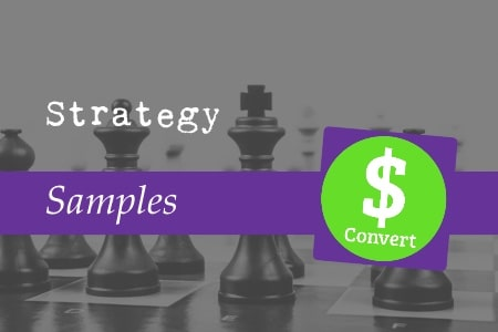 Strategy samples
