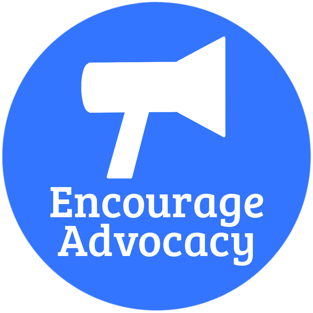 Should I start a blog, encourage advocacy icon