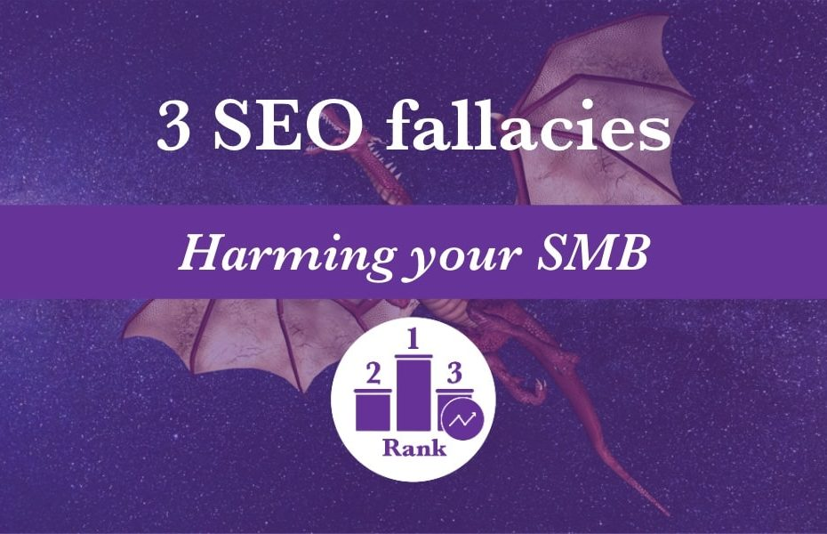 SEO myths. Like the mythical dragon, these ideas don't exist in the real world so stop believing in them if you want to increase your search rankings.