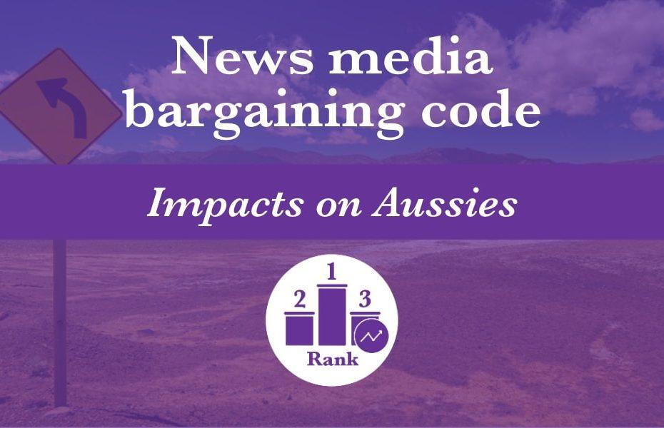 The news media bargaining code represents a bleak future for Australians