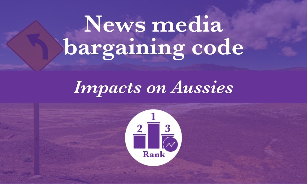 The news media bargaining code represents a bleak future for Australians